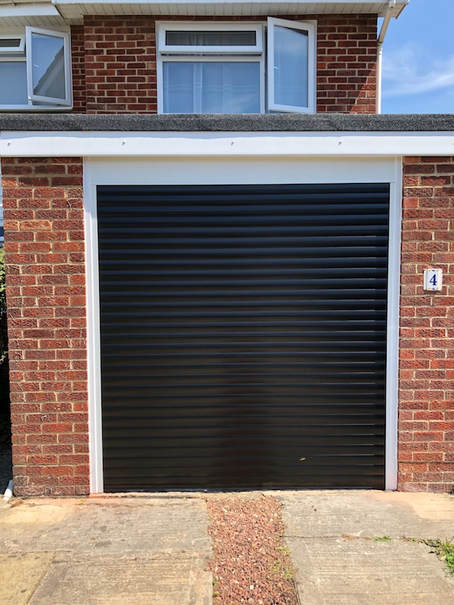 Roller Shutter Doors On Remote Control Fitted In Swindon Newbury
